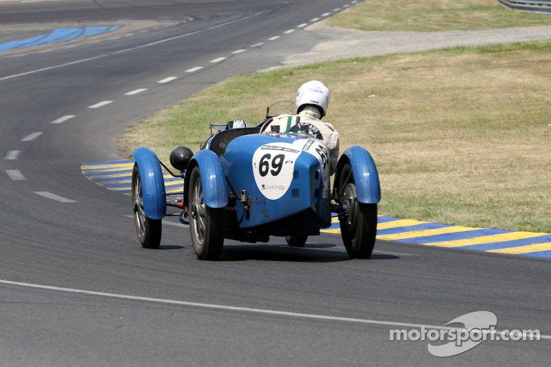 #69 Bugatti 51 1929: Jean-Marc Laffont, Eduardo T. Salzman