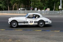 #55 Jaguar XK 140 1955: Peter Johns, David Hall