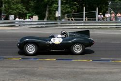 #14 Jaguar D Type 1954: Peter Neumark, Baxter