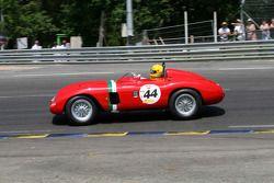 #44 Ferrari 625 Testarossa 1956: Nicolas Zapata