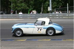 #71 Austin Healey 100M 1955: Georges Troussier