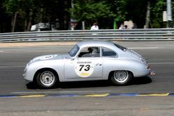 #73 Porsche 356 Pre A 1952: Romain Rocher, Jean-Pierre Martin