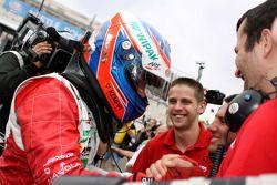 Race winner Valtteri Bottas, ART Grand Prix Dallara F308 Mercedes