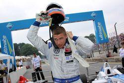 3e Edoardo Mortara, Signature Dallara F308 Volkswagen