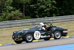 #77 Triumph TR3 A 1959: Jean-Marc Avezou, Olivier Penat