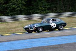 #39 Jaguar E Type 3,8L 1961: Robin Batt, Melvin Floyd