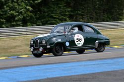 #56 Saab 93 GT 750 1959: Chris Partington, Ferdinet Gustavson, Chris Parkes, Chris Nutt