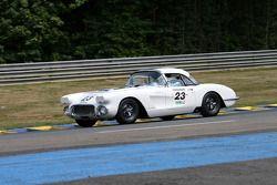 #23 Chevrolet Corvette 1960: Alain Rôede