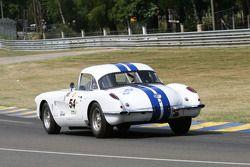 #54 Chevrolet Corvette 1958: Laurent Feve, Olivier Dupont, Henry Greder