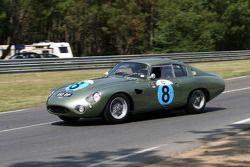 #8 Aston Martin DP 212 1962: Wolfgang Friedrichs, David Clark