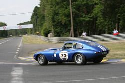 #73 Jaguar E Type 1964: Jean-Francois Renault, Thierry Crapart
