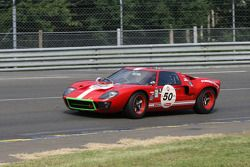 #50 Ford Gt40 1966: Pierre Bos, Jacques Roux, Jacques Roucolle