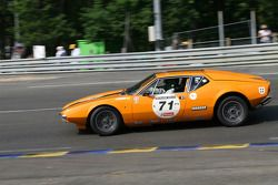 #71 De Tomaso Pantera 1972: Gérard Leduc, Yann Leduc, Pierre Modas, Thierry Duché
