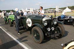 #58 Bentley 4,5L Le Mans 1930: Olivier du Boucheron, Anne du Boucheron, Edouard du Boucheron, Alexetra du Boucheron