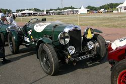 #50 Lagonda LG 45 1937: Florian Brent, Peter Michaelis