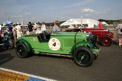 #4 Talbot 105 GO52 1931: Gareth Burnett,Julian Bronson, Alex Ames
