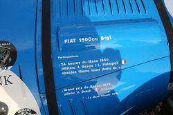 #58 Fiat 1500 Spéciale 1950: Olivier du Boucheron, Anne du Boucheron, Edouard du Boucheron, Alexetra du Boucheron