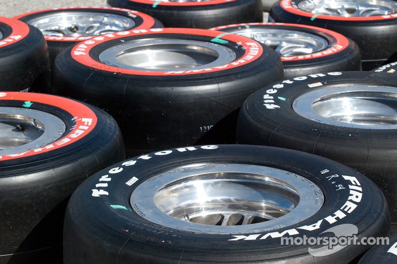 Firestone tires ready to go