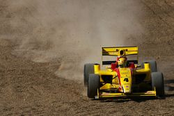 Benjamin Bailly goes off track at Paddock Hill Bend