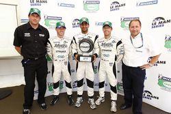 Michelin Green X Challenge conférence de presse: Danny Watts, Nick Leventis et Jonny Kane récupèrent le triophée pour Spa