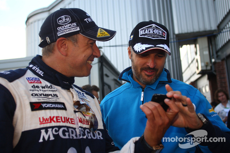 Tom Coronel, SR - Sport, Seat Leon 2.0 TDI en Alain Menu, Chevrolet, Chevrolet Cruze LT