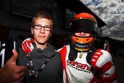 Race 2 pole winner Kazim Vasiliauskas