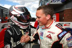 Philipp Eng congratulates Tom Gladdis