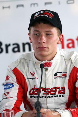Qualifying 2 press conference: pole winner Kazim Vasiliauskas