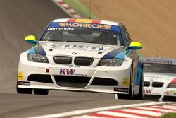 Sergio Hernandez leads Colin Turkington