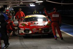 Pitstop #96 AF Corse Ferrari F430 GT: Gianmaria Bruni, Jaime Melo