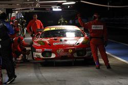 Pitstop #96 AF Corse Ferrari F430 GT: Gianmaria Bruni, Jaime Melo