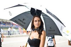 La hermosa chica de LCR Honda MotoGP