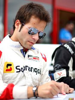 Ricardo Teixeira en session d'autographes