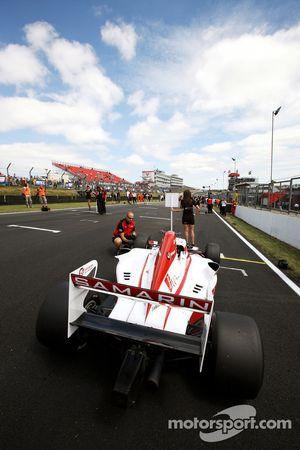 Ivan Samarin, on the race 2 grid