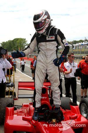 Race winner Philipp Eng