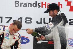 Podium: race winner Philipp Eng, second place Tom Gladdis