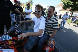 Sebastian Vettel, Red Bull Racing, a quad