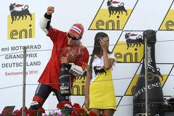 Podio: ganador de la carrera Dani Pedrosa, Repsol Honda team