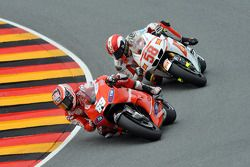 Nicky Hayden, Ducati Marlboro Team, Marco Simoncelli, San Carlo Honda Gresini