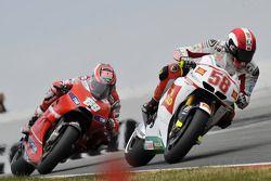 Marco Simoncelli, San Carlo Honda Gresini, Nicky Hayden, Ducati Marlboro Team