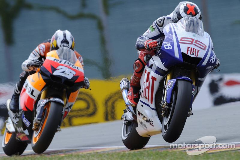 2010 : 72 puntos de Jorge Lorenzo sobre Dani Pedrosa