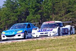 #40 Dempsey Racing Mazda RX-8: Charles Espenlaub, Joe Foster, #7 Starworks Motorsport BMW Riley: Bil