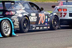 #70 SpeedSource Mazda RX-8: Jonathan Bomarito, Sylvain Tremblay et #57 Stevenson Motorsports Camaro