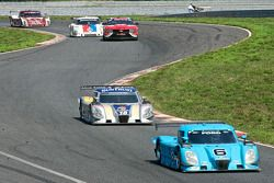 #6 Michael Shank Racing Ford Dallara: Brian Frisselle, Michael Valiante, #10 SunTrust Racing Ford Da