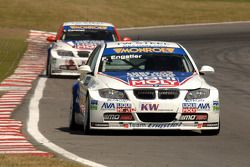 Franz Engstler leads Tim Coronel