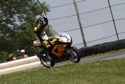 #1 Richie Morris Racing - Suzuki GSX-R600: Danny Eslick fête sa deuxième victoire en Daytona Sportbi