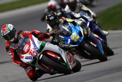 #72 Foremost Insurance/Pegram Racing - Ducati 1098R: Larry Pegram en tête au tour 1