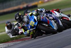 #22 Rockstar Makita Suzuki - Suzuki GSX-R1000: Tommy Hayden retakes the lead and holds on for the win