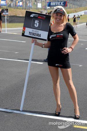 Formula 2 grid girl