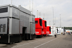 Due to sponsors issues the trucks are no longer in the paddock